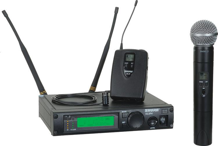 Shure ULXP124/85 - J1 Band, 554 - 590 MHz image 1
