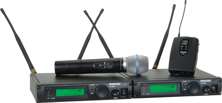 Shure ULXP124/Beta 87A - J1 Band, 554 - 590 MHz image 1