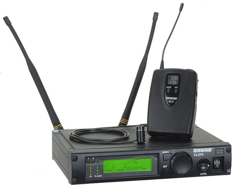 Shure ULXP14/84 - G3 Band, 470 - 505 MHz image 1