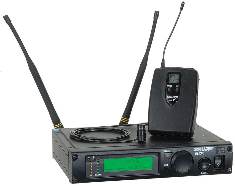 Shure ULXP14/85 - G3 Band, 470 - 505 MHz image 1