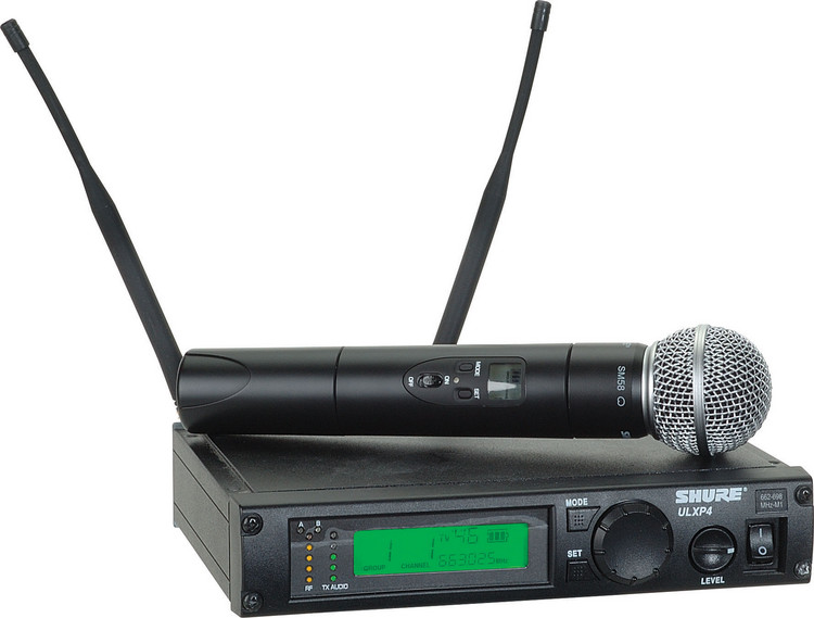 Shure ULXP24/58 - G3 Band, 470 - 505 MHz image 1