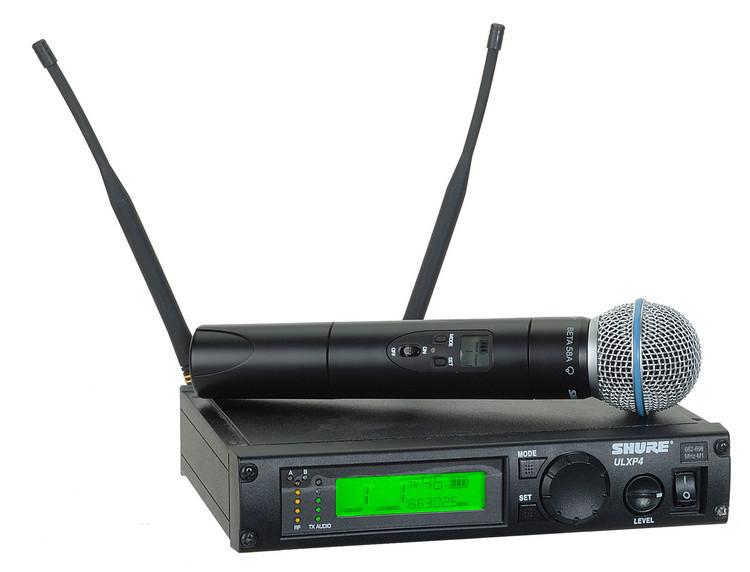 Shure ULXP24/Beta58 - J1 Band, 554 - 590 MHz image 1