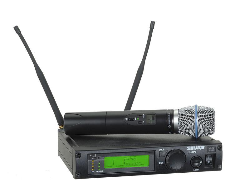 Shure ULXP24/Beta87A - J1 Band, 554 - 590 MHz image 1