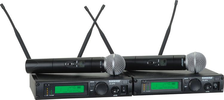Shure ULXP24D/58 - J1 Band, 554 - 590 MHz image 1