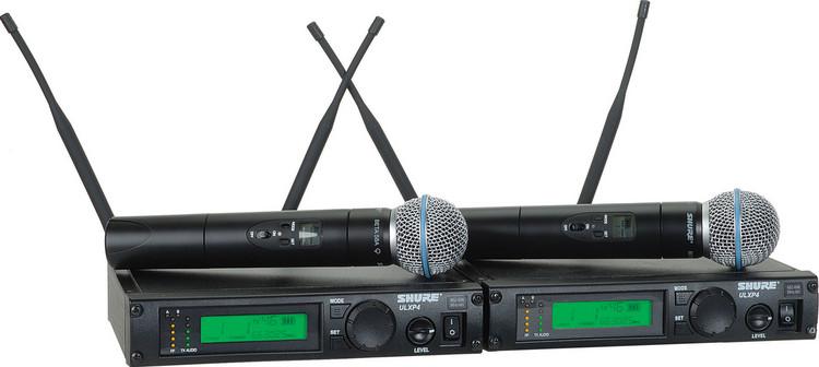 Shure ULXP24D/Beta58 - J1 Band, 554 - 590 MHz image 1