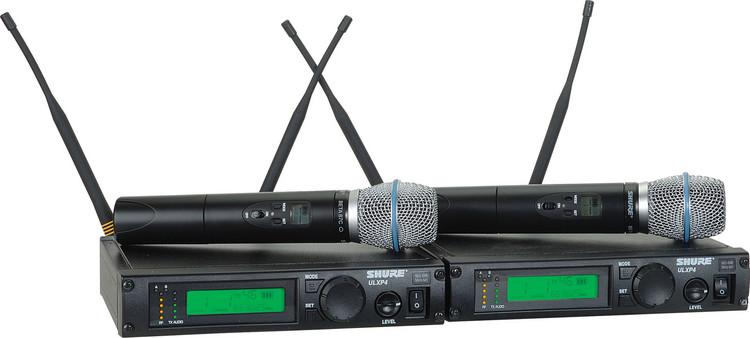 Shure ULXP24D/Beta87C - J1 Band, 554 - 590 MHz image 1