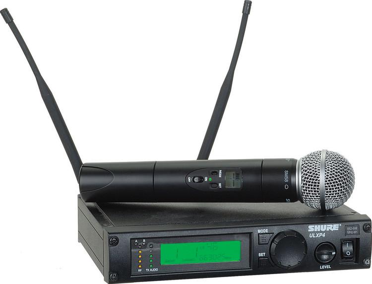 Shure ULXP24/SM86 - J1 Band, 554 - 590 MHz image 1