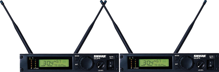 Shure ULXP4D - G3 Band, 470 - 505 MHz image 1