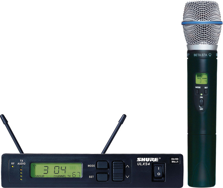 Shure ULXS24/Beta87A - G3 Band, 470 - 505 MHz image 1