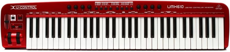 Behringer U-Control UMX610 Keyboard Controller image 1