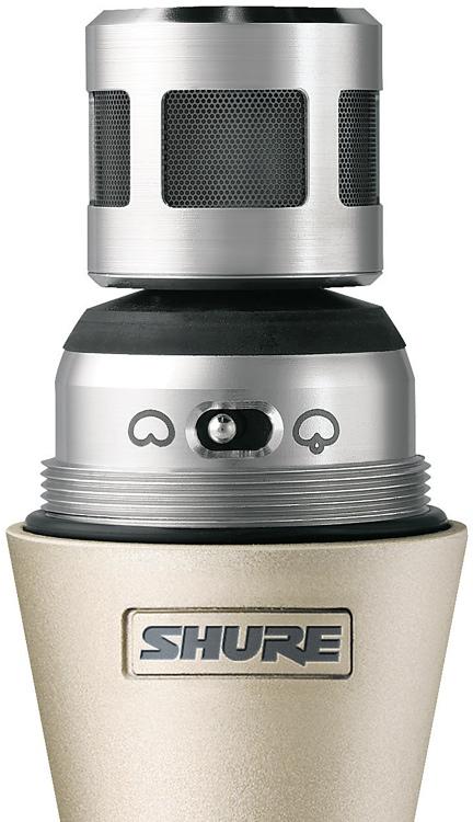 Shure UR2/KSM9 - H4 Band, 518 - 578 MHz, Silver image 1