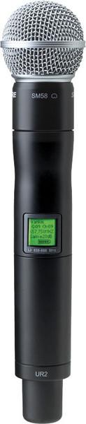 Shure UR2/SM58 - L3 Band, 638 - 698 MHz image 1