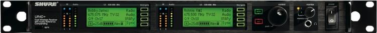Shure UR4D+ - J5 Band, 578 - 638 MHz image 1