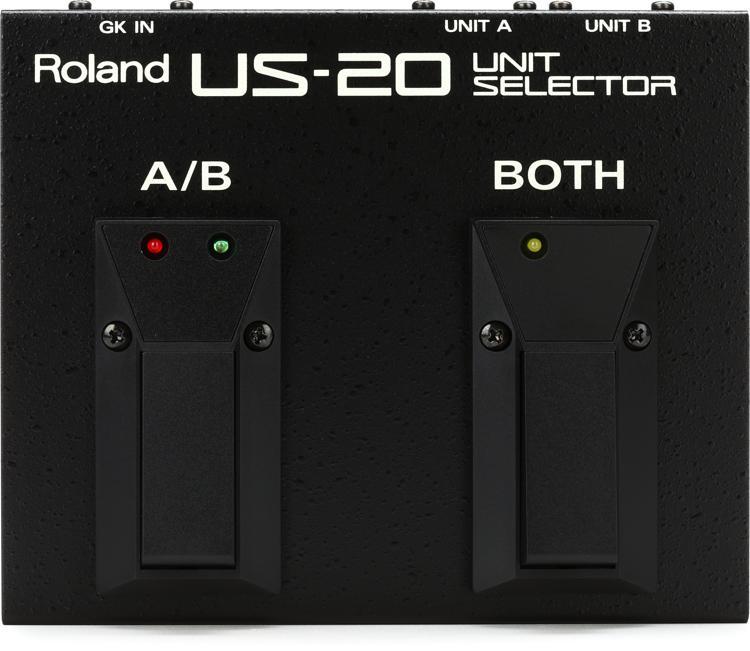 Roland US-20 GK-2A/GK-3 Unit Selector Pedal image 1