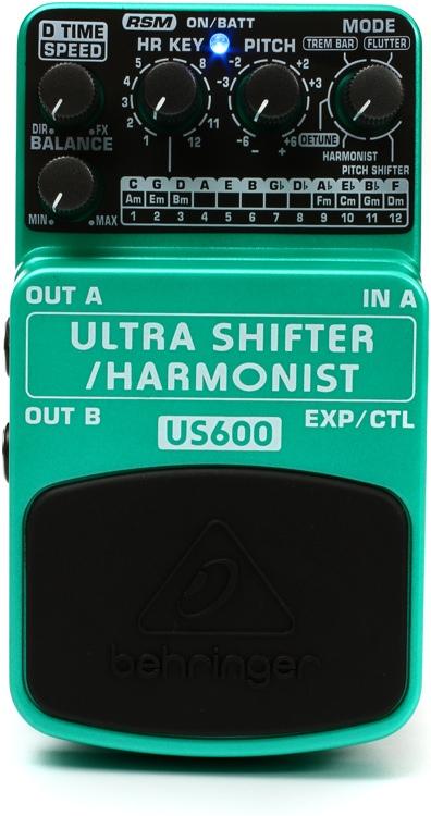 Behringer US600 Ultra Shifter / Harmonist Pedal image 1