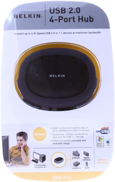 Belkin Hi-Speed USB 2.0 4-Port Hub image 1