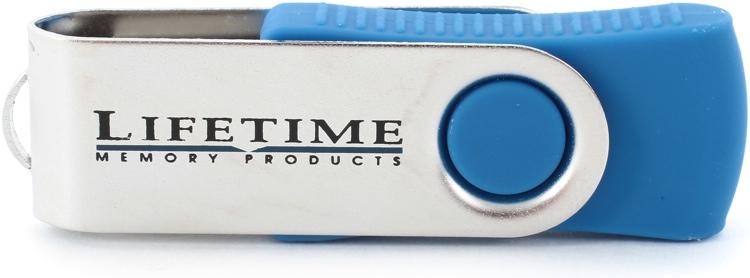 Lifetime Memory USB Flash Drive - 4 GB image 1