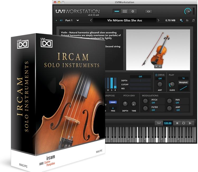 UVI IRCAM Solo Instruments image 1