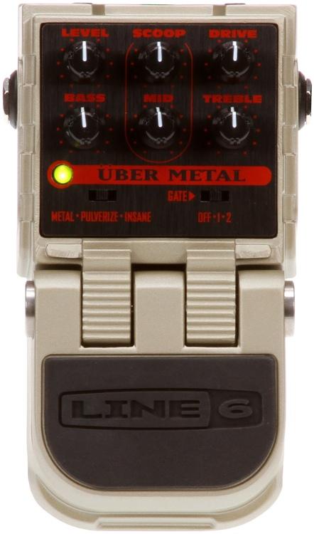 Line 6 Uber Metal Distortion Pedal image 1
