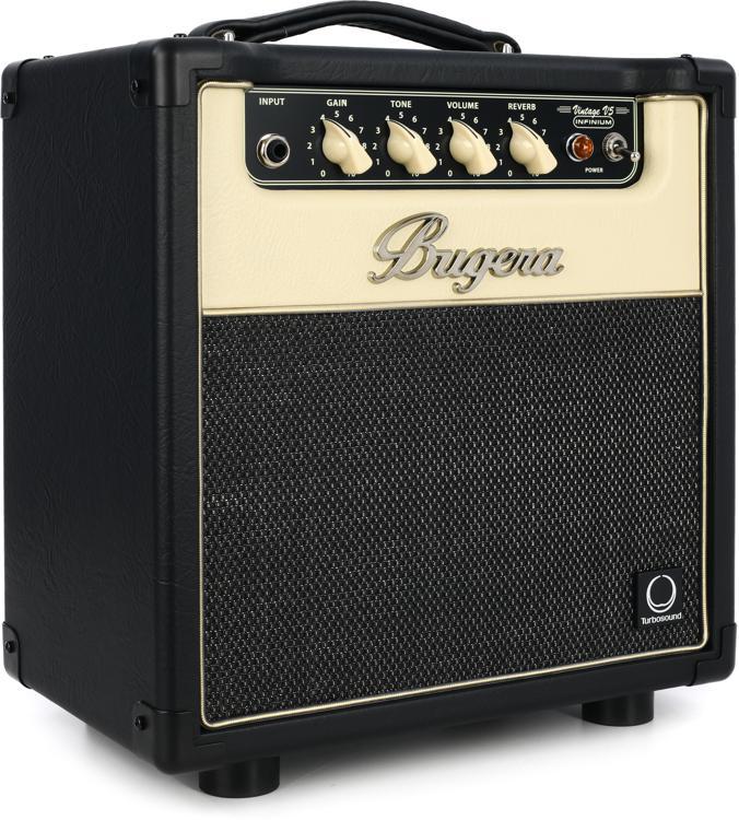 bugera v5 infinium 5 watt 1x8 tube combo amp sweetwater. Black Bedroom Furniture Sets. Home Design Ideas