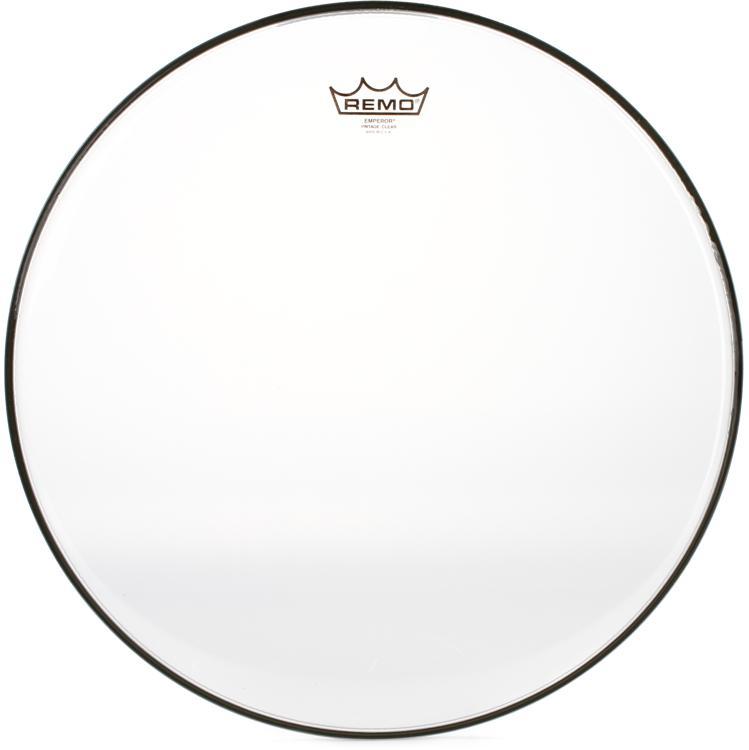 Remo Vintage Emperor Clear Drum Head - 18