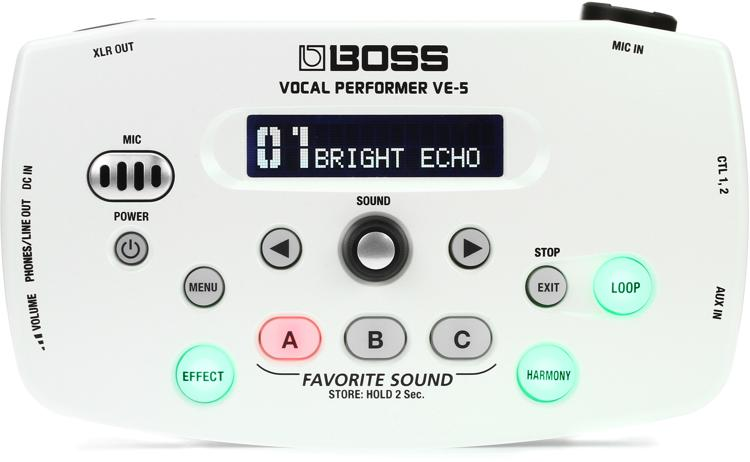 Boss VE-5 - White image 1