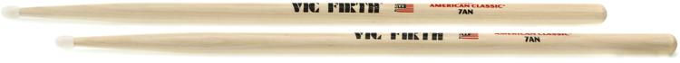Vic Firth American Classic Drum Sticks - 7A - Nylon Tip image 1