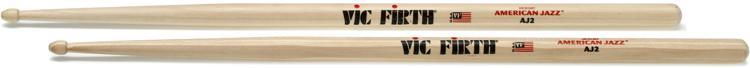 Vic Firth American Jazz Hickory Drum Sticks - J2 image 1