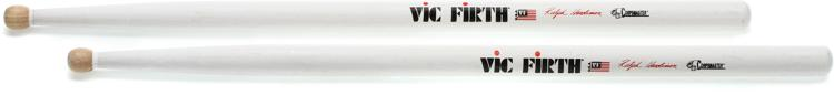 Vic Firth Corpsmaster Signature Snare Stick Pair - Ralph Hardimon - Wood Tip image 1