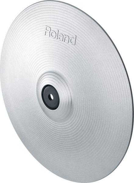 Roland VH-12-SV V-Hi-Hat - Silver image 1