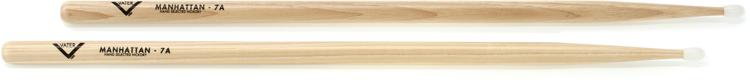 Vater American Hickory Drumsticks - 7A - Nylon Tip image 1