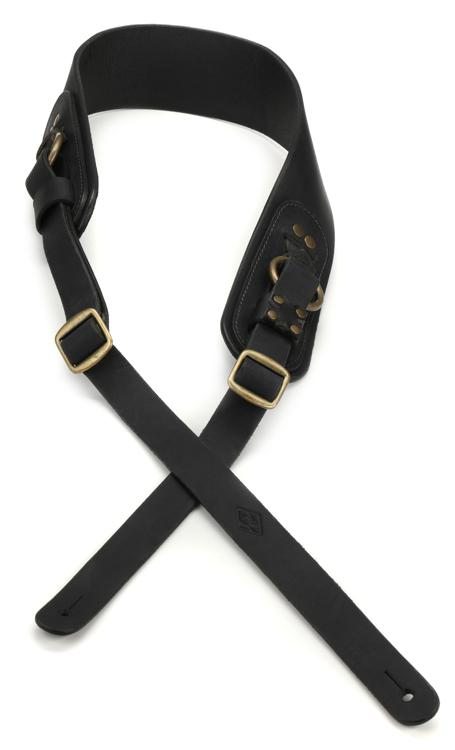 LM Products Odin Viking Series Leather Strap - Black image 1