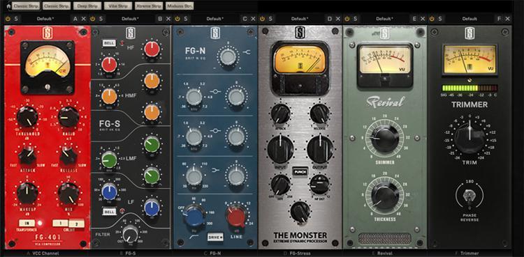 Slate Digital VMR Virtual Mix Rack Plug-in Bundle