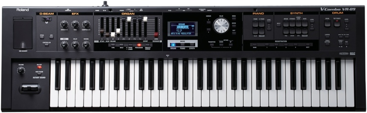 Roland V-Combo VR-09 61-key Stage Performance Keyboard image 1