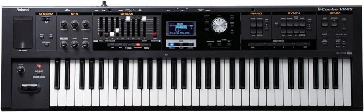 Roland V-Combo VR-09 61-key Stage Performance Keyboard image 1