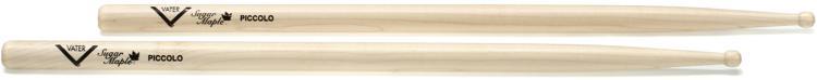 Vater Sugar Maple Drumsticks - Piccolo - Wood Tip image 1