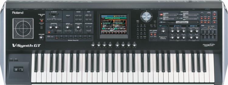 Roland V-Synth GT 61-key Synthesizer image 1