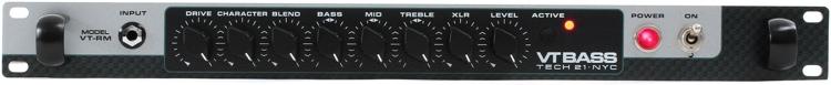 Tech 21 SansAmp VT Bass Rackmount Preamp image 1