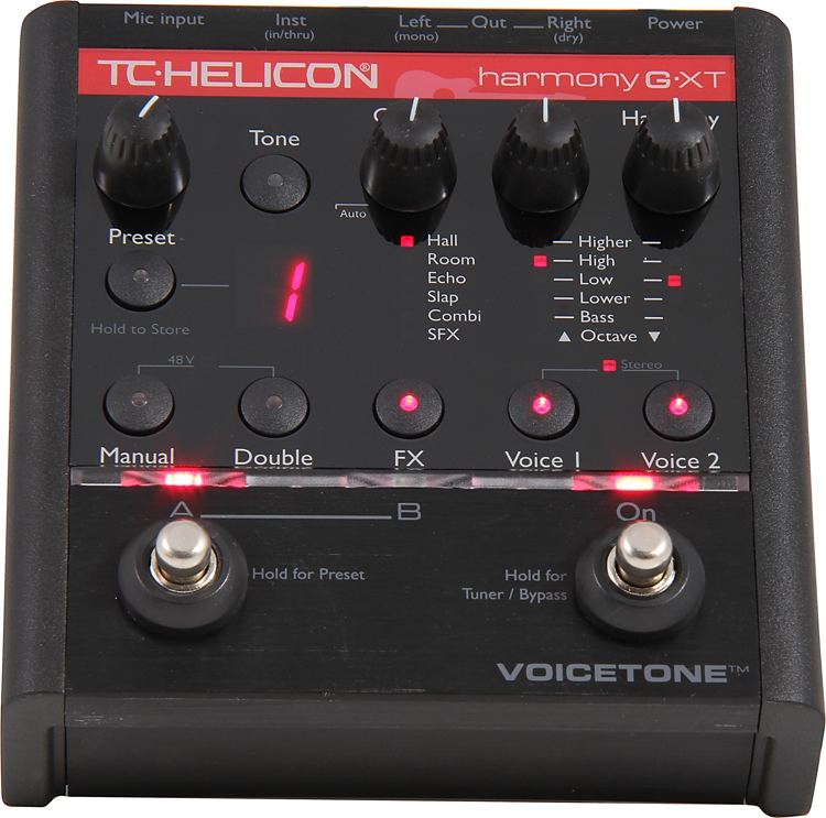 TC-Helicon VoiceTone Harmony-G XT image 1