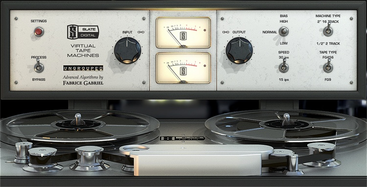 Slate Digital VTM Virtual Tape Machines Plug-in (boxed - includes iLok) image 1