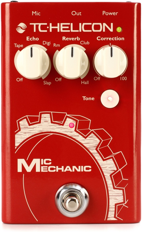 TC-Helicon Mic Mechanic 2 - Battery Powered image 1