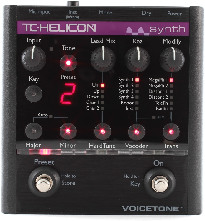 TC-Helicon VoiceTone Synth image 1