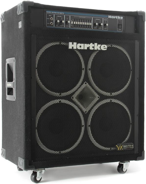 hartke vx3500 4x10 350 watt bass combo sweetwater. Black Bedroom Furniture Sets. Home Design Ideas