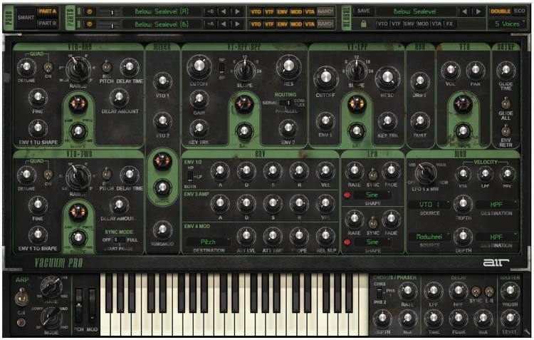 AIR Vacuum Pro Polyphonic Analog Tube Synthesizer image 1