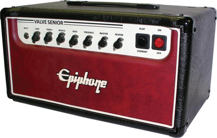 Epiphone Amplifiers Valve Senior Head image 1