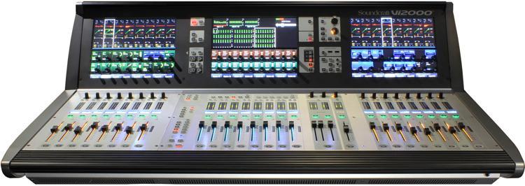 soundcraft vi2000 digital mixer sweetwater. Black Bedroom Furniture Sets. Home Design Ideas
