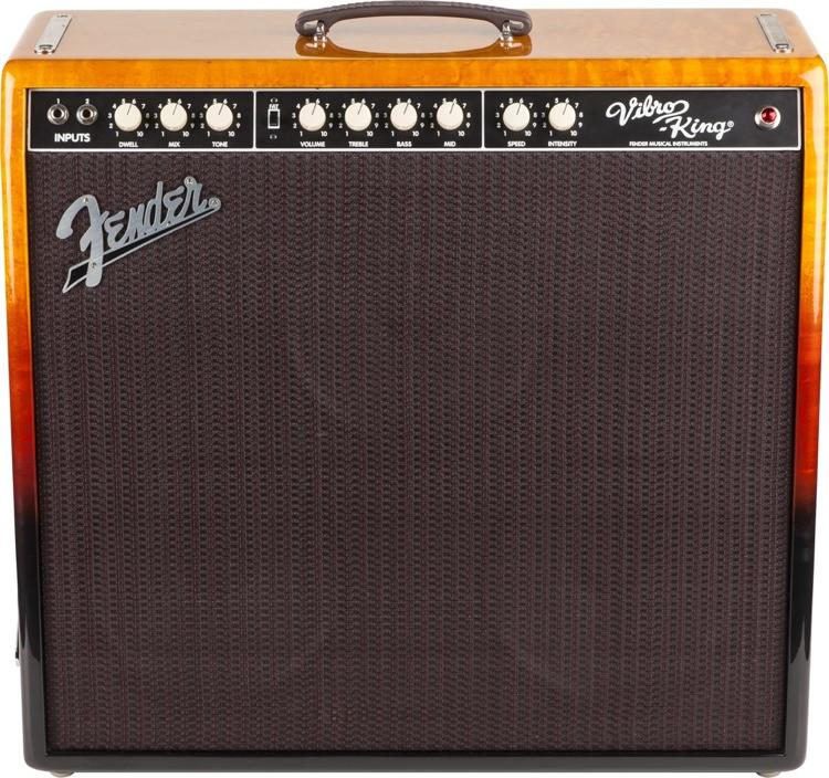 Fender Vibro-King Custom FSR - Birdseye Sunburst image 1