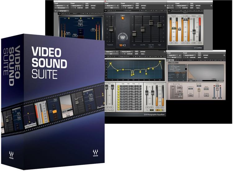Waves Video Sound Suite Plug-in Bundle image 1