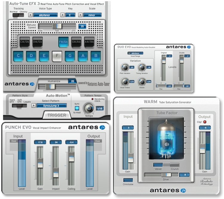 Antares Vocal Express Plug-in Bundle image 1