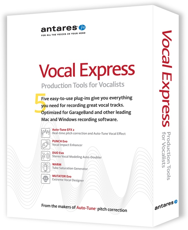 Antares Vocal Express Vocal Production Plug-in Bundle image 1